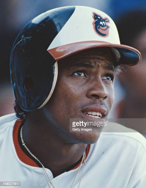 Portrait of Juan Bell of the Dominican Republic and second baseman for the Baltimore Orioles during the Major League Baseball American League East...