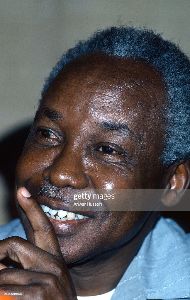 Portrait of <a gi-track='captionPersonalityLinkClicked' href=/galleries/search?phrase=Julius+Nyerere&family=editorial&specificpeople=228294 ng-click='$event.stopPropagation()'>Julius Nyerere</a>, the President of Tanzania on July 01, 1979 in Dar es Salaam, Tanzania.