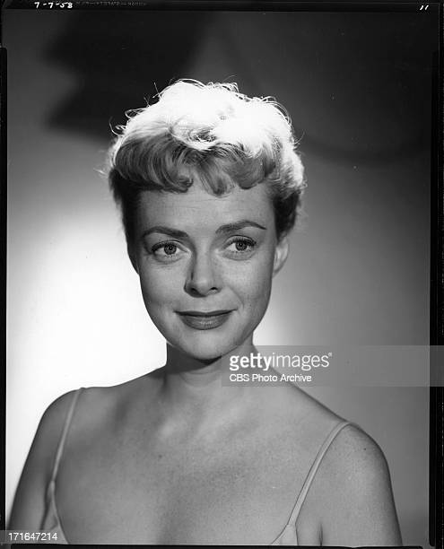 Portrait of June Lockhart Image dated July 7 1958
