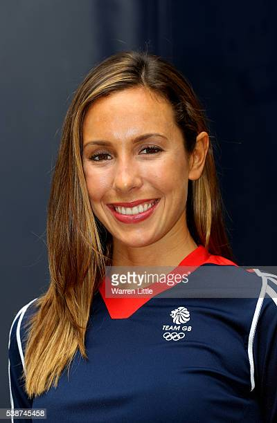 A portrait of Kate French of Great Britain during an announcement of Modern Pentathlon athletes named in Team GB for the Rio 2016 Olympic Games at...