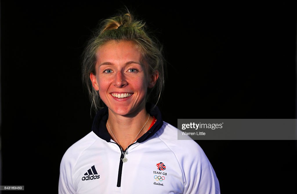 A portrait of <a gi-track='captionPersonalityLinkClicked' href=/galleries/search?phrase=Katherine+Copeland&family=editorial&specificpeople=5668025 ng-click='$event.stopPropagation()'>Katherine Copeland</a> a member of the Great Britain Olympic team during the Team GB Kitting Out ahead of Rio 2016 Olympic Games on June 26, 2016 in Birmingham, England.