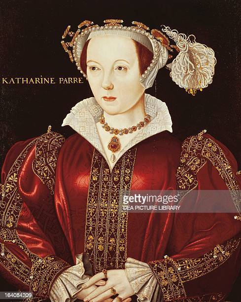 Portrait of Katherine Parr Queen Consort of England Painting by William Scrots London National Gallery