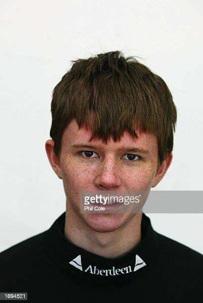 Portrait of Kenelm Richardson of the Cambridge University Boat Race crew held on December 9 2002 in Putney London England