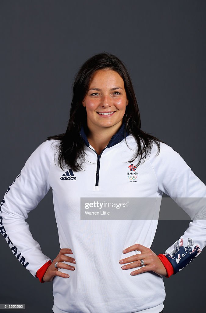 A portrait of Keri-anne Payne a member of the Great Britain Olympic team during the Team GB Kitting Out ahead of Rio 2016 Olympic Games on June 29, 2016 in Birmingham, England.