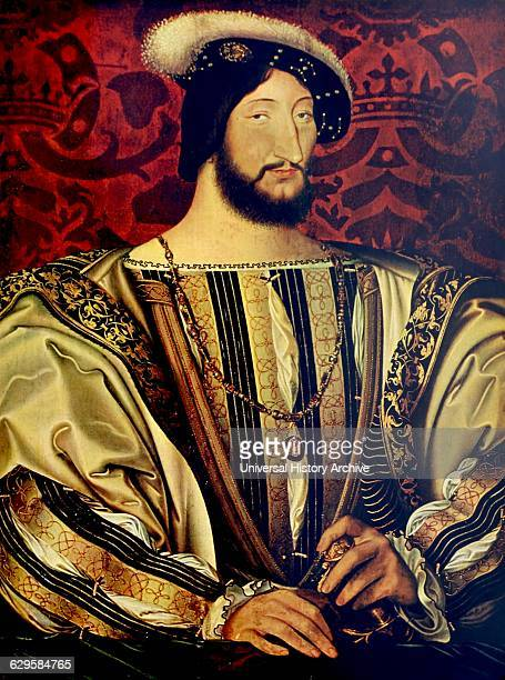 Portrait of King Francis I of France from the Angoulême branch of the House of Valois Dated 16th Century