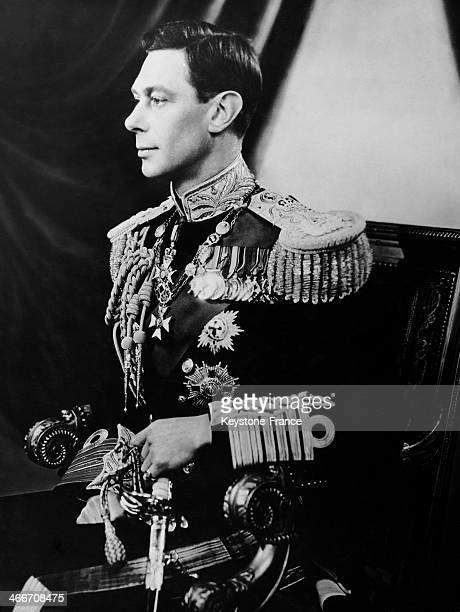 Portrait of King George VI in London United Kingdom on May1937