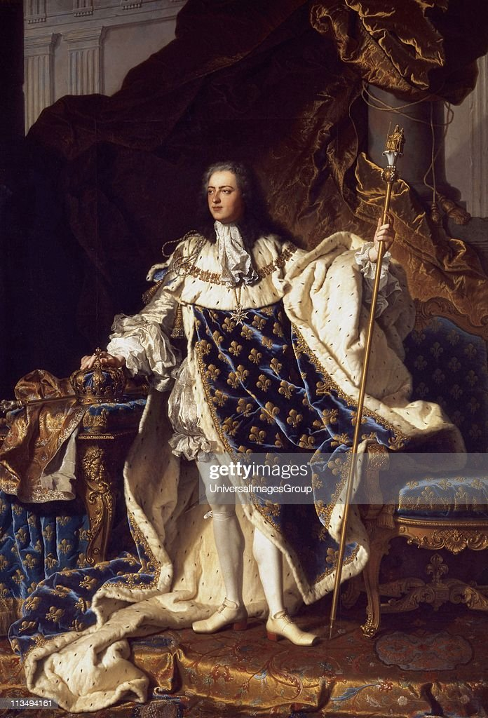 Portrait of King Louis XV of France by Hyacinthe Rigaud 16591743