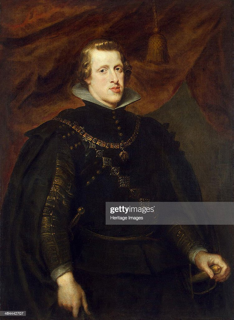 'Portrait of King Philip IV of Spain, of the Spanish Netherlands and King of Portugal', c1628-1629. Rubens, Pieter Paul (1577-1640). Found in the collection of the State Hermitage, St. Petersburg.