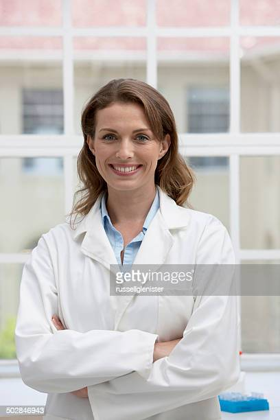 Portrait of laboratory technician