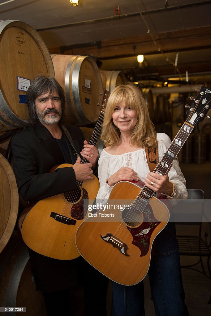 Portrait of Larry Campbell and Teresa Williams backstage at the City Winery in New York City on April 1, 2016.