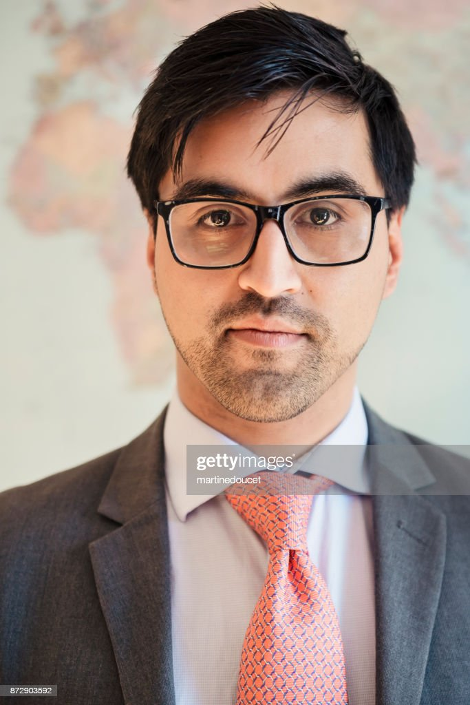 Portrait of latin-american businessman in his thirties. : Stock Photo