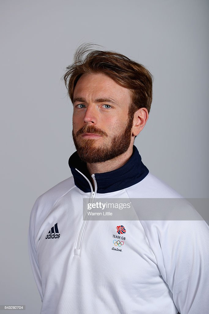 A portrait of Laurence Halstead a member of the Great Britain Olympic team during the Team GB Kitting Out ahead of Rio 2016 Olympic Games on June 27, 2016 in Birmingham, England.