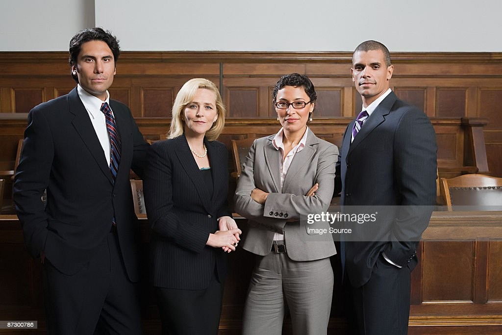 Portrait of lawyers : Stock Photo