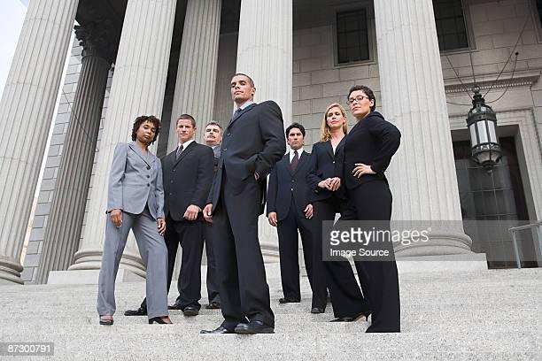 Portrait of lawyers