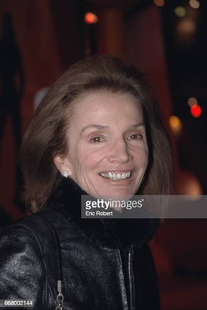 Portrait of Lee Radziwill sister of Jackie Bouvier Kennedy Onassis