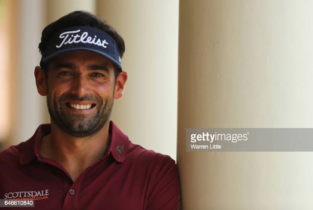 A portrait of Lee Slattery of England ahead of the Tshwane Open at Pretoria Country Club on March 1 2017 in Pretoria South Africa