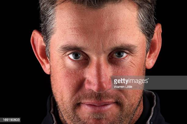 A portrait of Lee Westwood of England ahead of the BMW PGA Championship at Wentworth on May 21 2013 in Virginia Water England