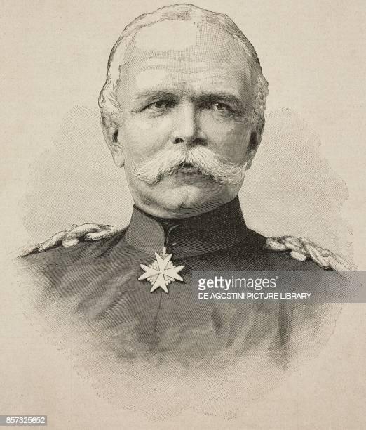 Portrait of Leon von Caprivi German general and politician illustration from Il Secolo Illustrato della Domenica Year II No 58 November 9 1890