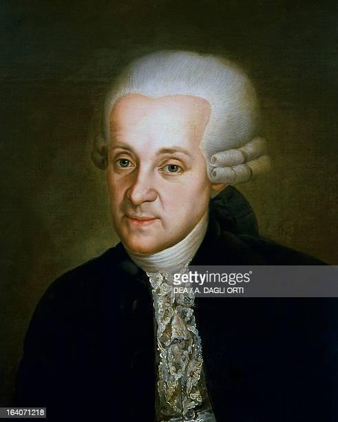 Portrait of Leopold Mozart Austrian composer and violinist father of Wolfgang Amadeus Mozart and Maria Anna Mozart Vienna Historisches Museum Der...