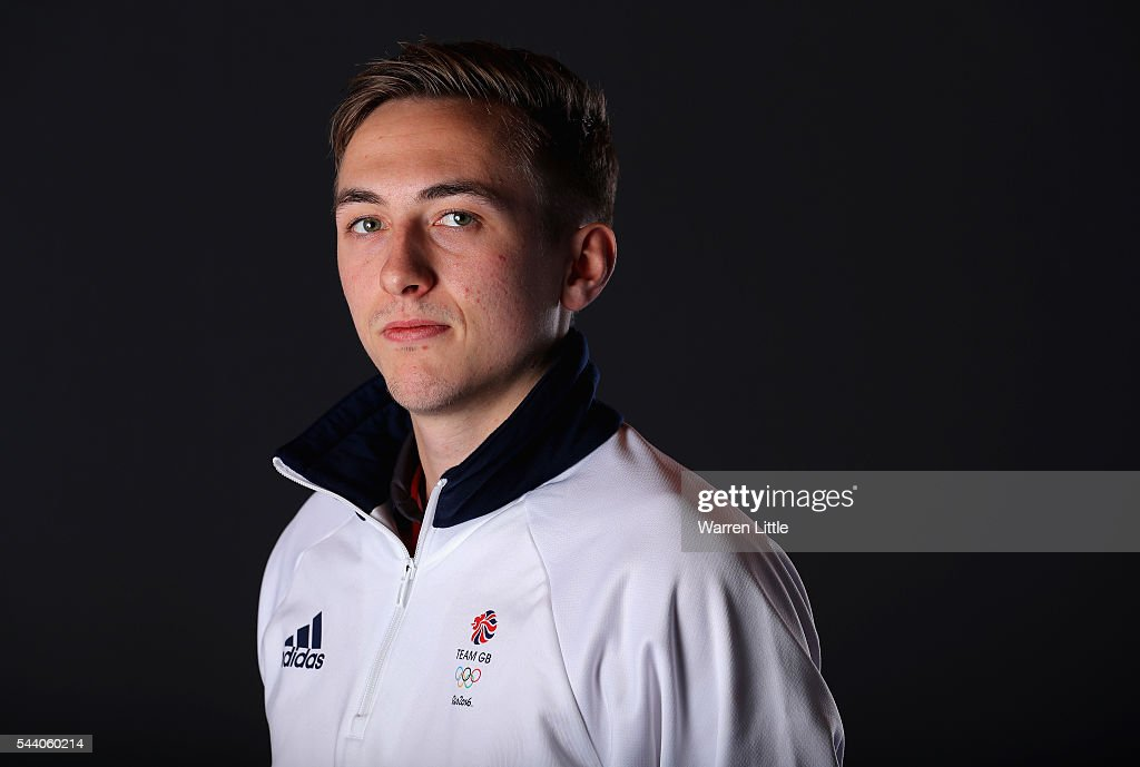 A portrait of Liam Pitchford a member of the Great Britain Olympic team during the Team GB Kitting Out ahead of Rio 2016 Olympic Games on July 1, 2016 in Birmingham, England.