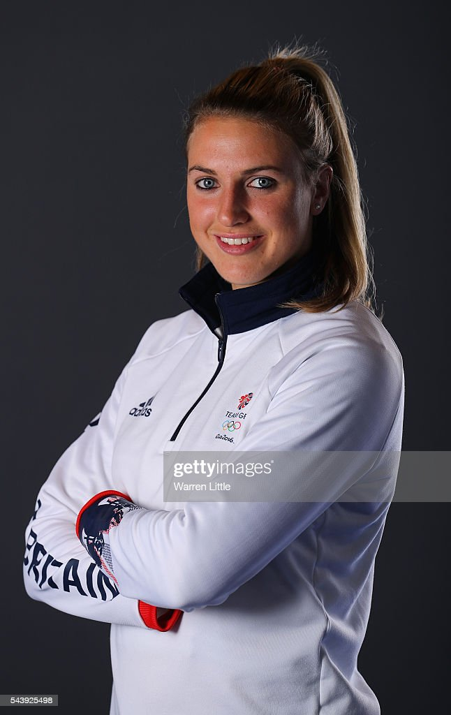 A portrait of <a gi-track='captionPersonalityLinkClicked' href=/galleries/search?phrase=Lily+Owsley&family=editorial&specificpeople=9527172 ng-click='$event.stopPropagation()'>Lily Owsley</a> a member of the Great Britain Olympic team during the Team GB Kitting Out ahead of Rio 2016 Olympic Games on June 30, 2016 in Birmingham, England.