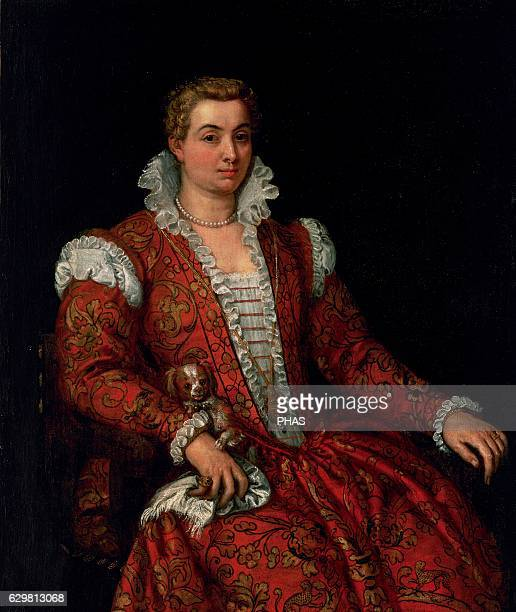 Portrait of Livia Colonna 15701572 by Paolo Veronese