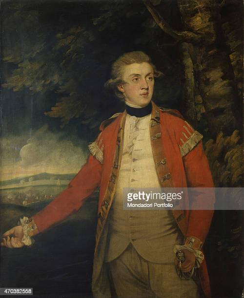 'Portrait of Lord Donoughmore by Joshua Reynolds 18th century oil on canvas Italy Lombardy Milan Brera Collection Whole artwork view Portrait of a...