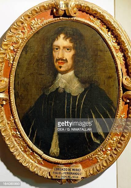 Portrait of Lorenzo de Medici painting by Isaac Campo Florence Palazzo Pitti Galleria Palatina