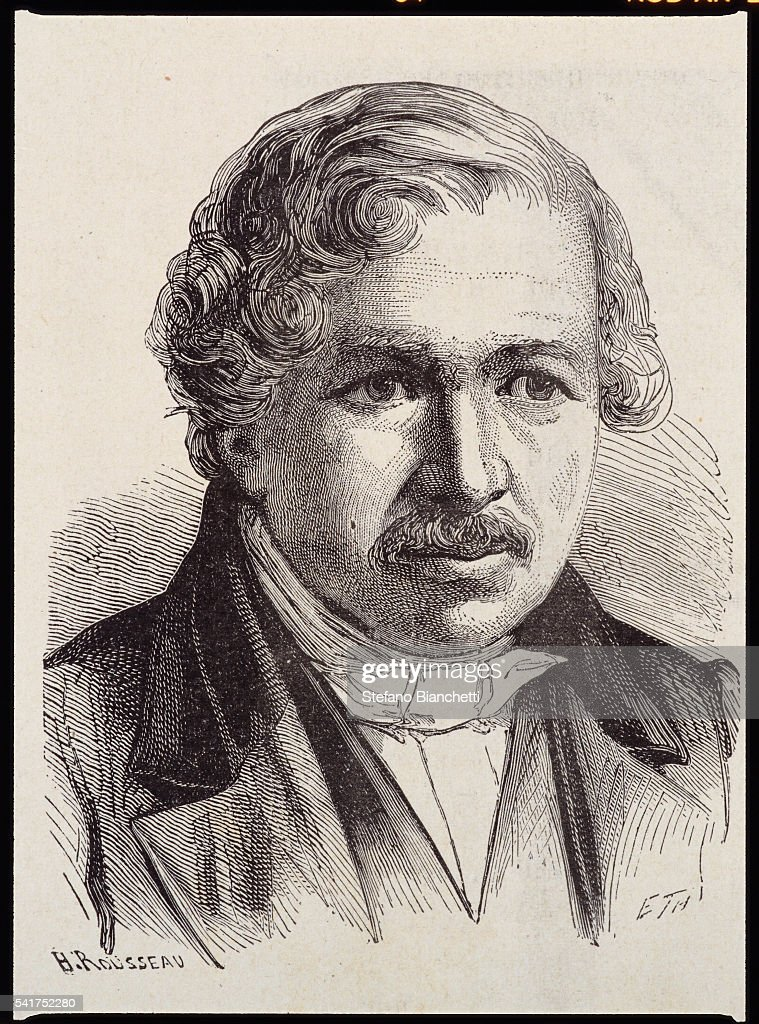 Portrait of Louis Jacques Mande Daguerre by Henri Rousseau