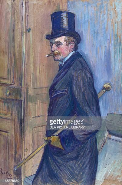 Portrait of Louis Pascal by Henri de Toulouse Lautrec oil on cardboard 77X53 cm Albi Musée ToulouseLautrec