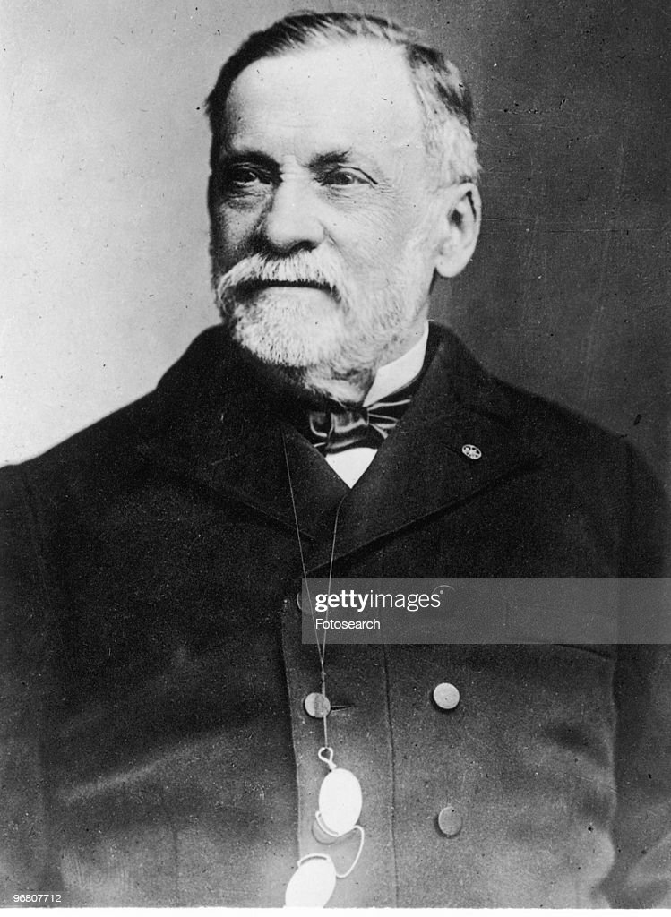 Portrait of <a gi-track='captionPersonalityLinkClicked' href=/galleries/search?phrase=Louis+Pasteur&family=editorial&specificpeople=78770 ng-click='$event.stopPropagation()'>Louis Pasteur</a>, circa 1880s. (Photo by Fotosearch/Getty Images).