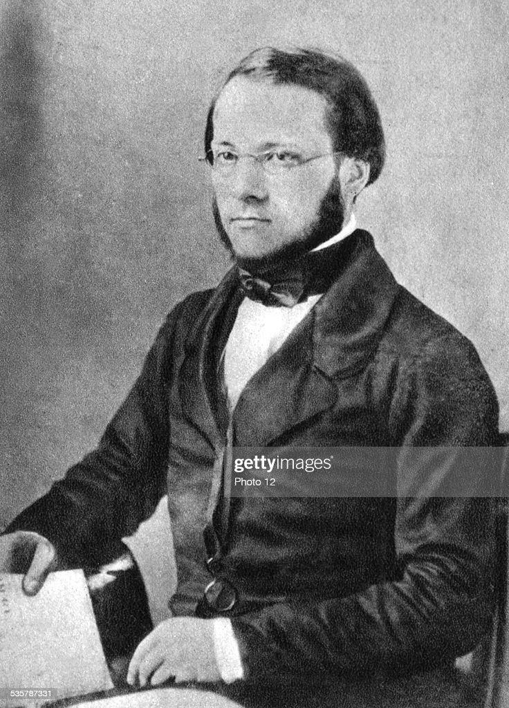 Portrait of <a gi-track='captionPersonalityLinkClicked' href=/galleries/search?phrase=Louis+Pasteur&family=editorial&specificpeople=78770 ng-click='$event.stopPropagation()'>Louis Pasteur</a> (1822-1895), 1852, France.