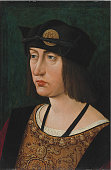 Portrait of Louis XII King of France Private Collection Artist Perréal Jean