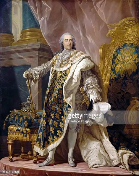 Portrait of Louis XV in his royal costume Found in the collection of Musée de l'Histoire de France Château de Versailles