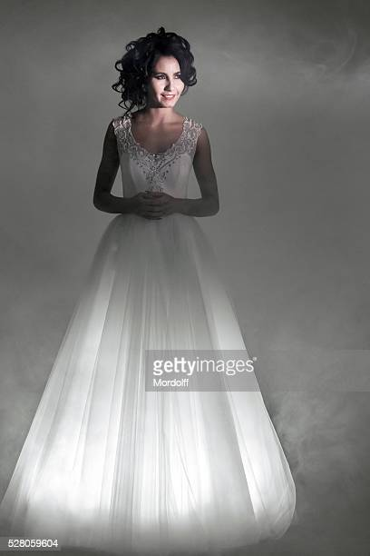 Portrait Of Lovely Bride