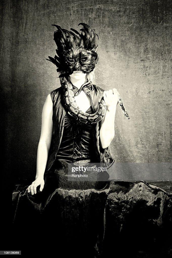 Portrait of Macabre : Stock Photo