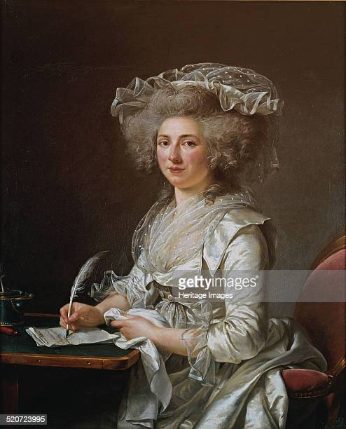 Portrait of Madame Roland Found in the collection of Musée des beauxarts de Quimper