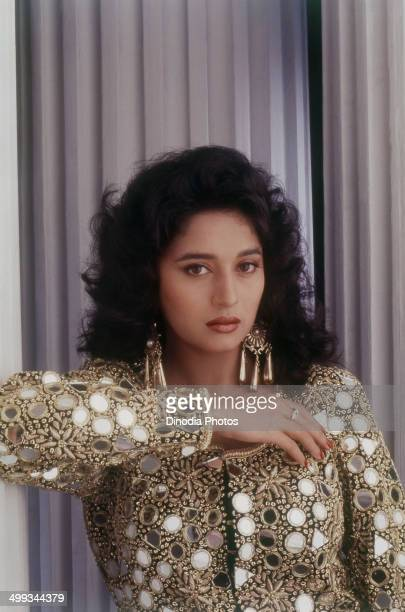 1990 Portrait of Madhuri Dixit