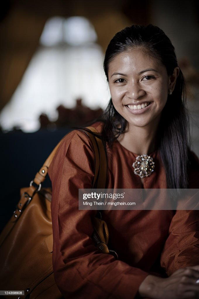 Portrait of Malaysian woman : Stock Photo