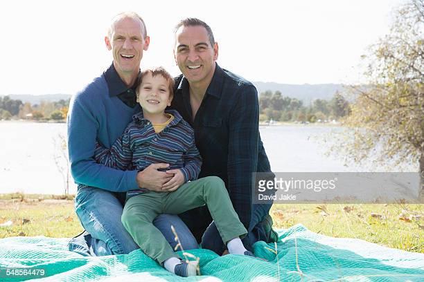 Gay man and son