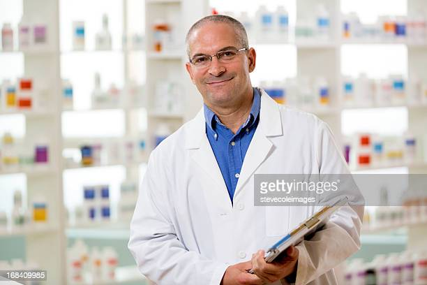 Portrait of Male Pharmacist