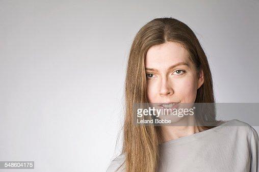 Portrait of male to female transgender person