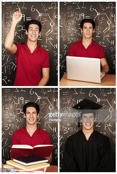 Portrait of man in education