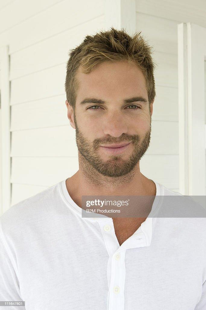 Portrait of man : Stock Photo