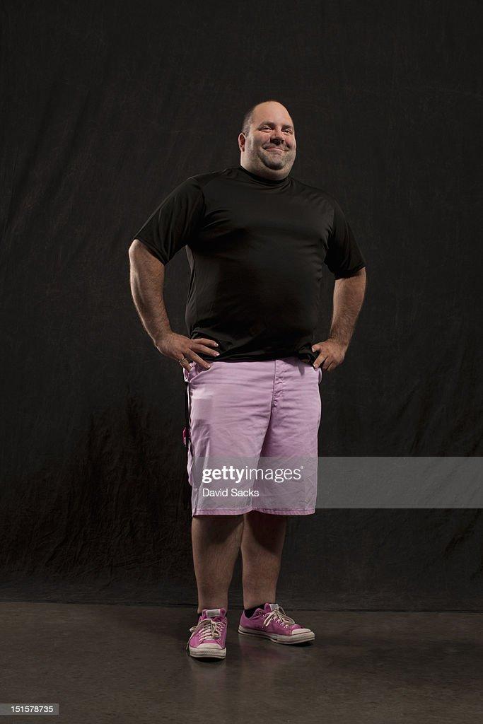 Portrait of man