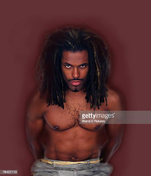 Sexy Dread Black Man Pic
