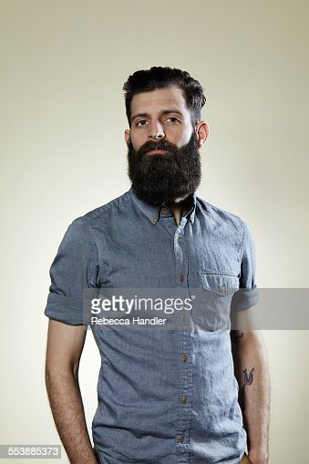 Portrait of Man with Large Beard