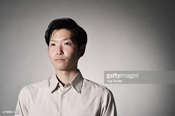 Portrait of man,Japan