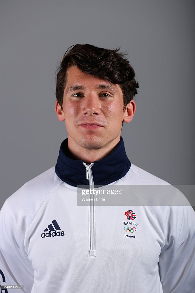 A portrait of Marcus Mepstead a member of the Great Britain Olympic team during the Team GB Kitting Out ahead of Rio 2016 Olympic Games on June 27, 2016 in Birmingham, England.