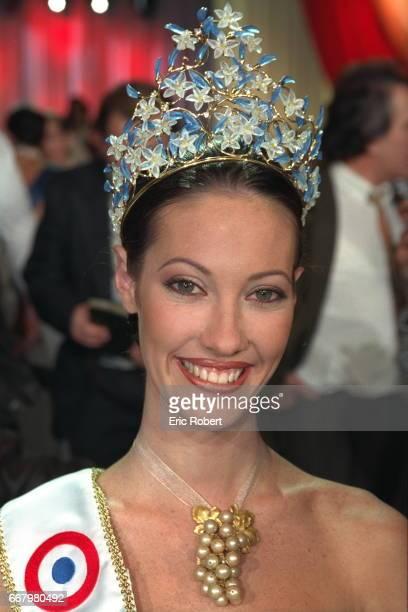 Portrait of Mareva Galantier Miss Tahiti now Miss France 1999